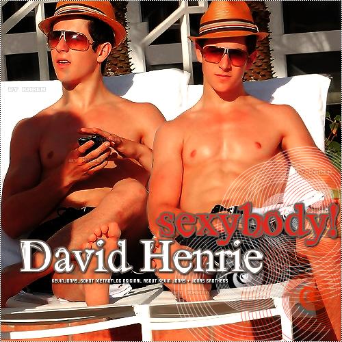 David Henrie Muscles
