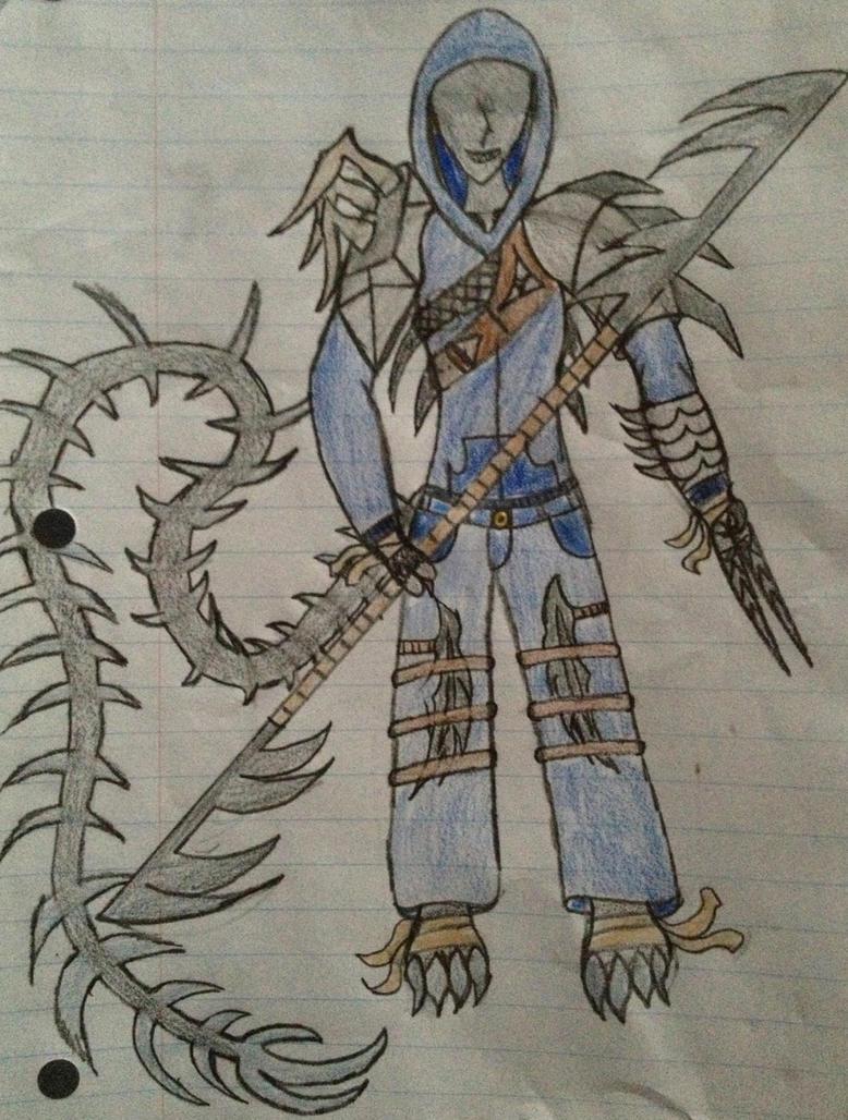 Fearless warrior (Xenobrine) by Dark-sontheWolf137