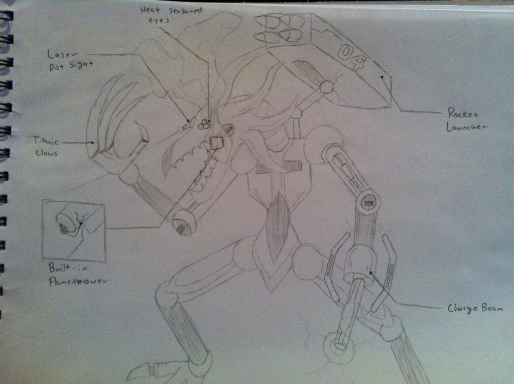 Draconaut (Draconought infantry) by Dark-sontheWolf137