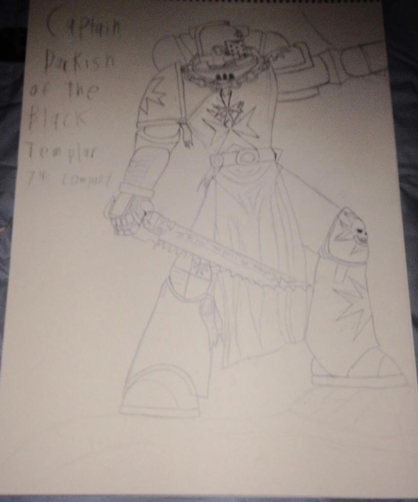 Captain Black Templar 7th Company by Dark-sontheWolf137