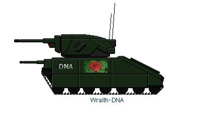 DNA Wraith Light Tank by Dark-sontheWolf137