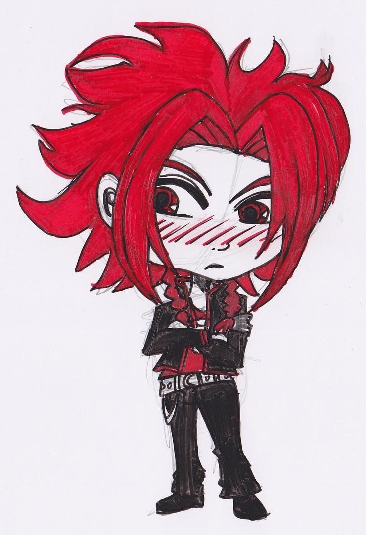 Grumpy Yusuke by StariaChiba
