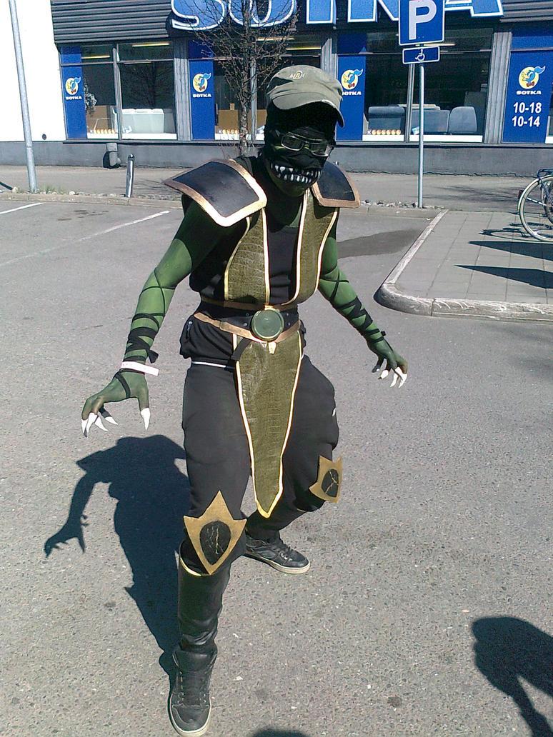 Reptile mortal kombat costume - photo#22