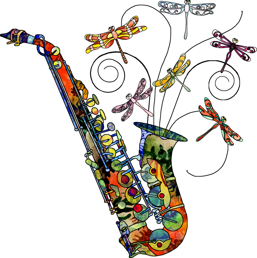 wild saxophone by zodiarts on deviantart All Saxophone Clip Art Jazz Saxophone Clip Art