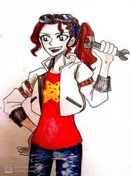 Jamie Neutron the Girl Genius by nmaki98