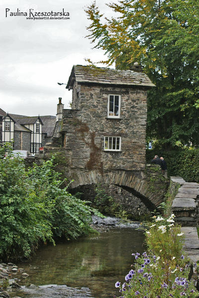 Bridge House in Ambleside by Paulaart18