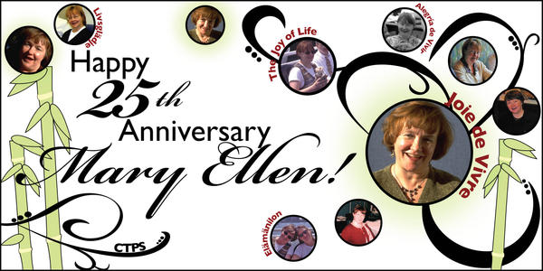 25th Anniversary - Mary Ellen by knoonan