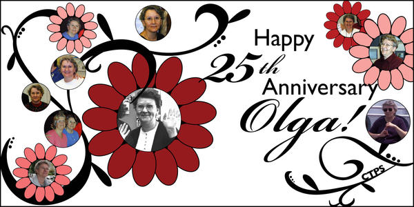 25th Anniversary - Olga by knoonan