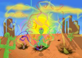 Desert Symphony by Yadonashi