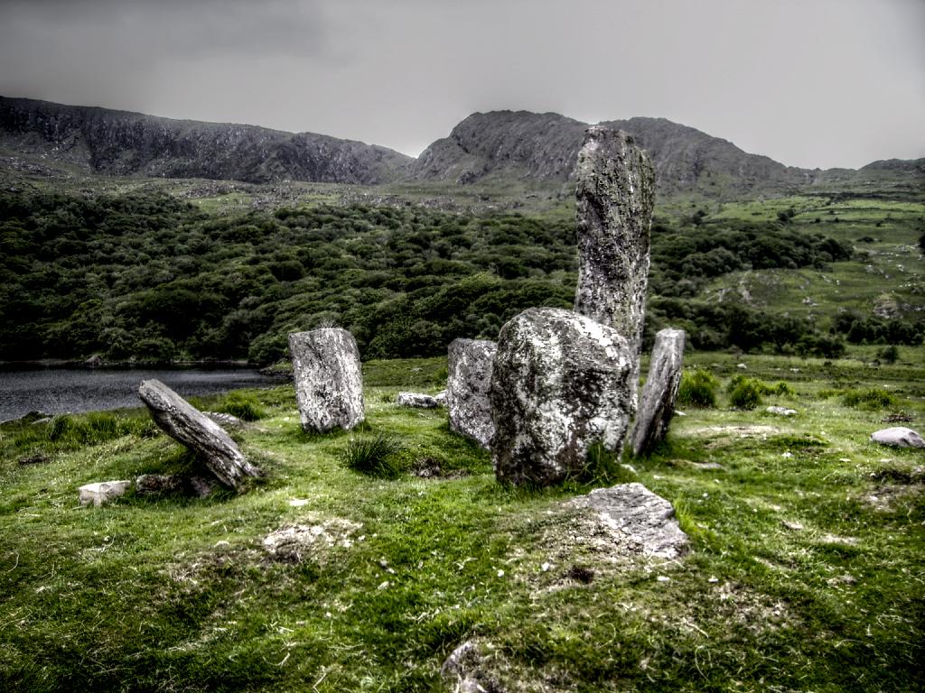 Uragh Stone Circle HDR by ClintonKun