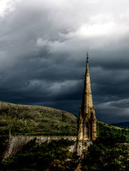 Steeple Storm HDR by ClintonKun