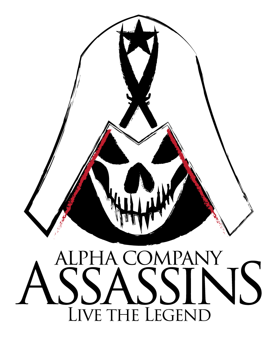 Alpha company assassins t shirt design by clintonkun on for Company t shirt design inspiration
