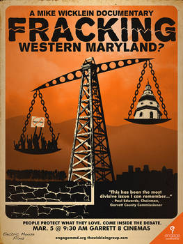 'Fracking Western Maryland?' Official Movie Poster
