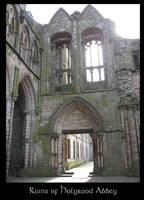 Ruins of Holyrood Abbey 2 by ClintonKun