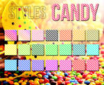 Candy Glitter Styles
