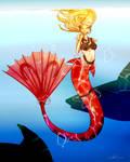 Zodiac Mermaid Collection:  Aries