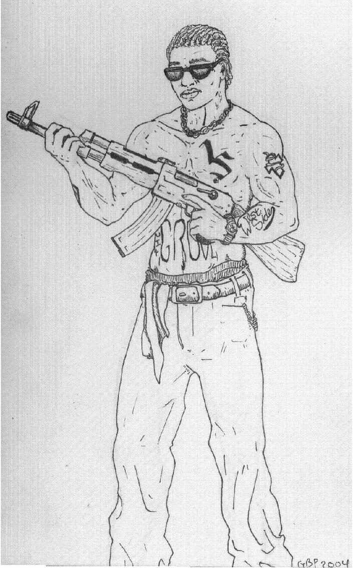 Cj Scribble Drawing : Gta sanandreas by westpunk on deviantart