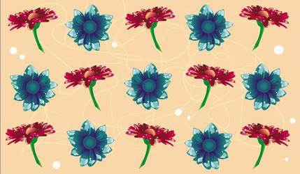 Flower Wallpaper Widescreen by Maysiiu