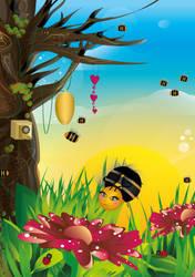 Bee Utopia by Maysiiu