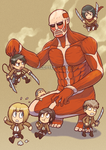 Attack on Titan - Fun Size by marcotte