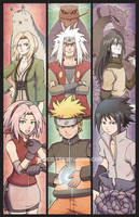 Shinobi Generations by marcotte