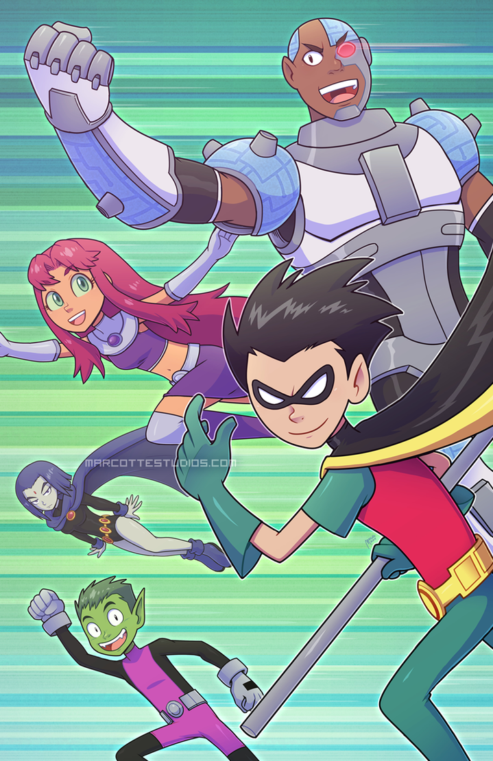 Teen Titans - Assemble! by marcotte