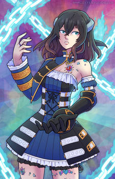 Bloodstained - Voltic Chains of Miriam