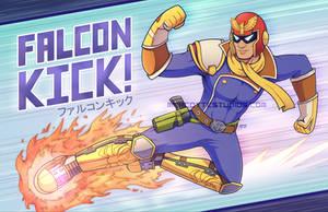 FALCON KICK! by marcotte