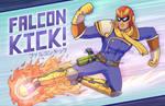 FALCON KICK!