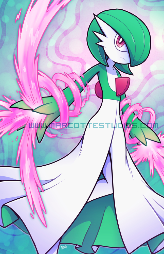 Gardevoir - Future Viewer Fairy by marcotte