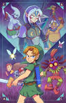 The Other Faces of Link - Majora's Mask