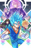 Dragonball Super - Future Trunks Arc by marcotte