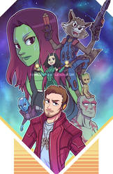 Guardians of the Galaxy Vol 2 by marcotte