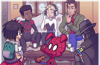 Spider-verse Family Reunion
