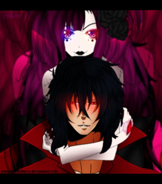 [Private Collab] Yuzuki and Seraphim by YuukiChiwa
