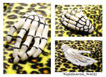 Skeleton Hand Polymer Clay
