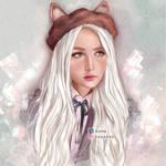 KAWAII GIRL by Nhechan