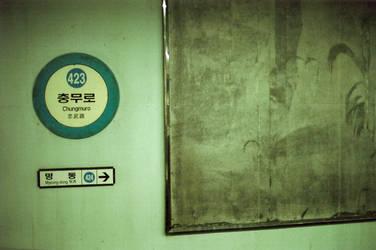 Korean subway by jemlith