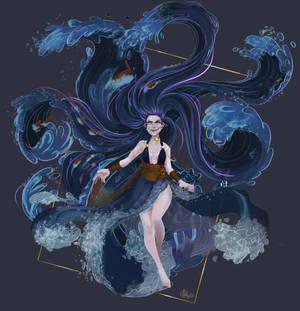 Ran - Goddess of the stormy sea