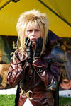 Jareth from Labyrinth cosplay