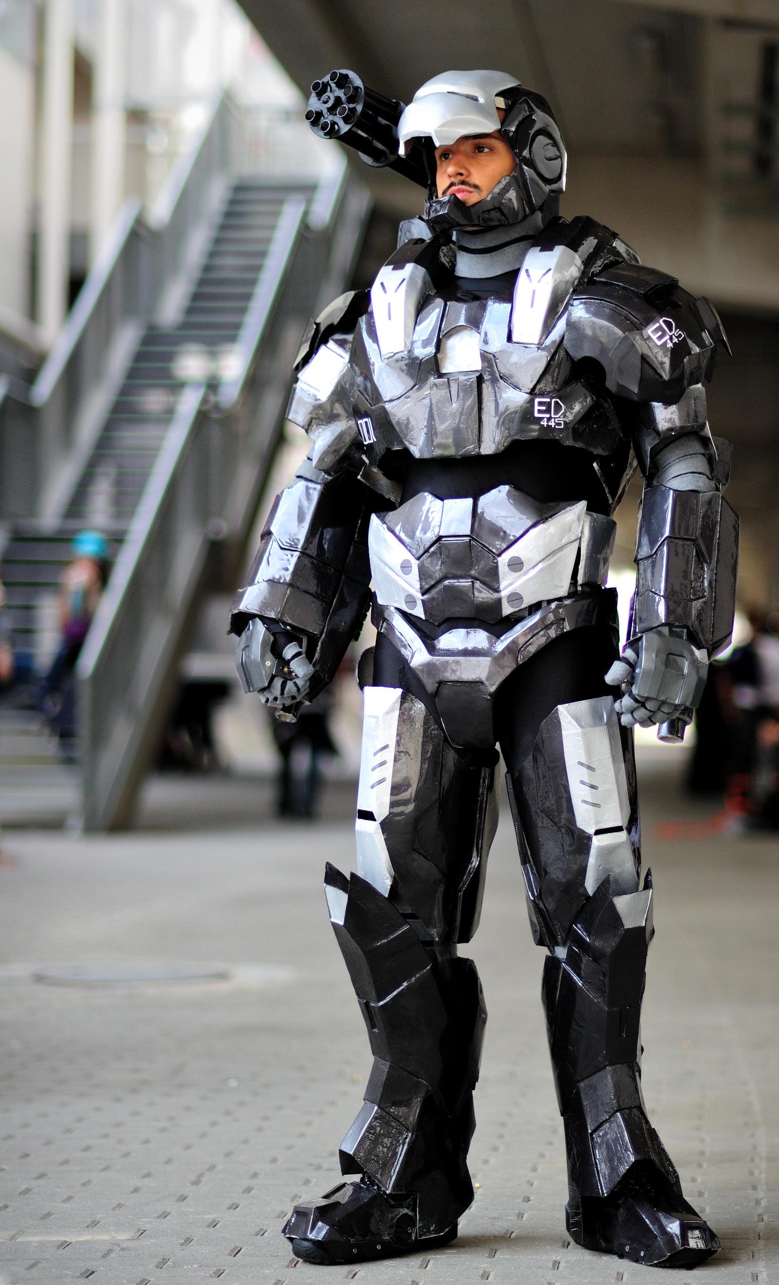 Warmachine cosplay 2