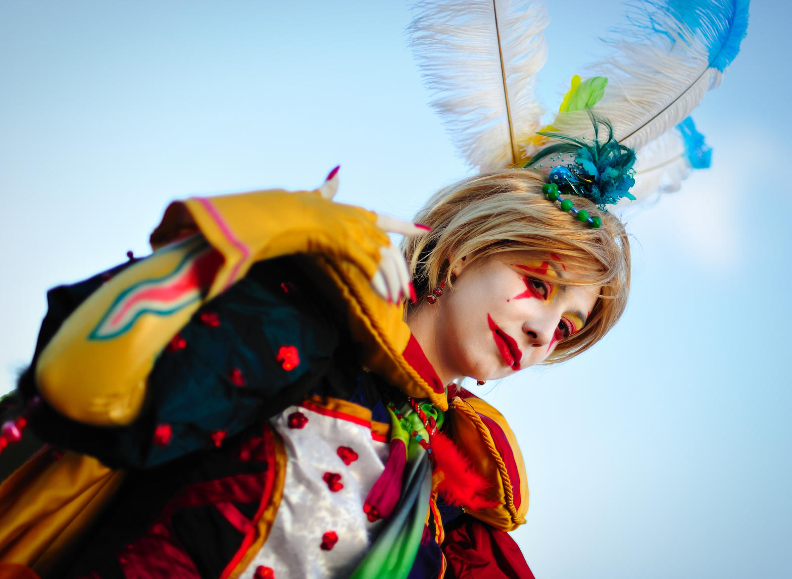 Kefka cosplay by Sandman-AC
