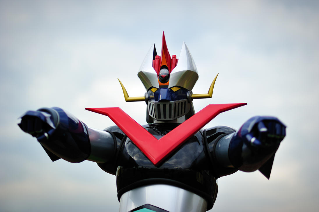 Great Mazinger cosplay by Sandman-AC