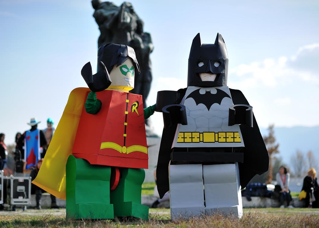 Lego Batman cosplay by Sandman-AC