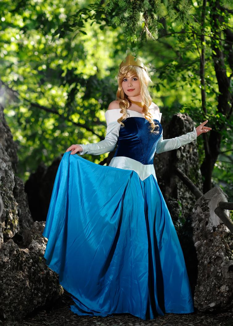 Aurora blue dress ver. by Sandman-AC