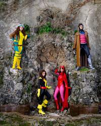 Marvel mutants group by Sandman-AC