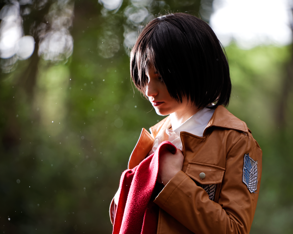 Mikasa Ackerman by Sandman-AC