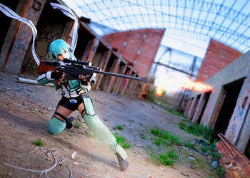 Sinon 2nd shot by Sandman-AC