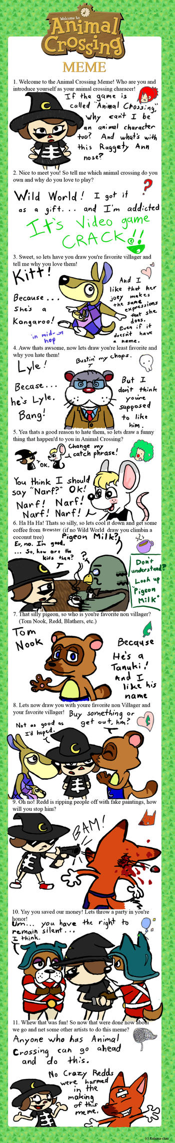 Animal Crossing Meme Filled by Shinigami-Ziggy