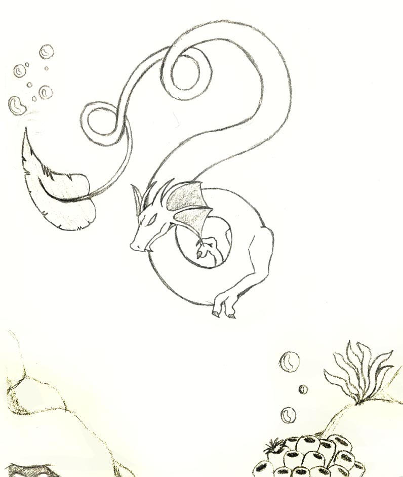 sea serpent coloring pages - sea serpent by shinigami ziggy on deviantart